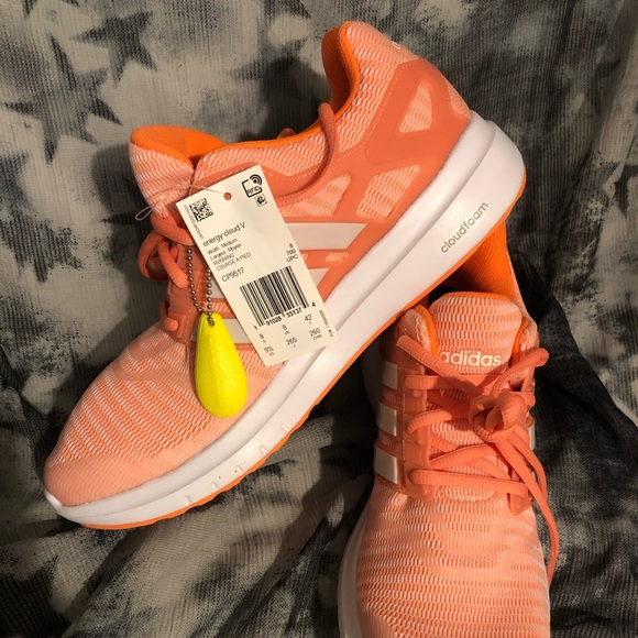 adidas Shoes - NWT Adidas Ortholite Cloud Foam Sneakers - Orange